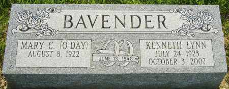 BAVENDER, KENNETH LYNN - Franklin County, Ohio | KENNETH LYNN BAVENDER - Ohio Gravestone Photos