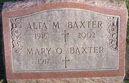 BAXTER, ALTA MILDRED - Franklin County, Ohio | ALTA MILDRED BAXTER - Ohio Gravestone Photos