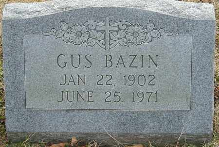 BAZIN, GUS - Franklin County, Ohio | GUS BAZIN - Ohio Gravestone Photos