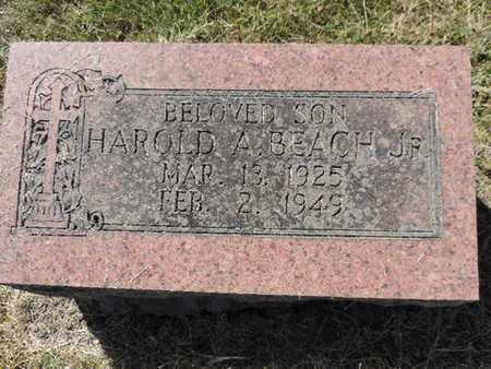 BEACH, HAROLD A. - Franklin County, Ohio | HAROLD A. BEACH - Ohio Gravestone Photos
