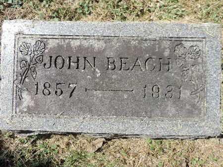 BEACH, JOHN - Franklin County, Ohio | JOHN BEACH - Ohio Gravestone Photos