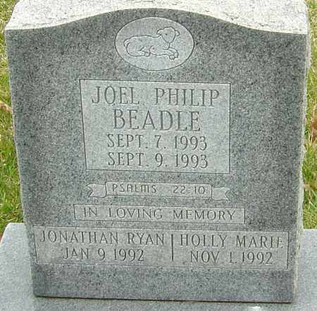 BEADLE, JOEL PHILIP - Franklin County, Ohio | JOEL PHILIP BEADLE - Ohio Gravestone Photos