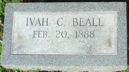 BEALL, IVAH C - Franklin County, Ohio | IVAH C BEALL - Ohio Gravestone Photos