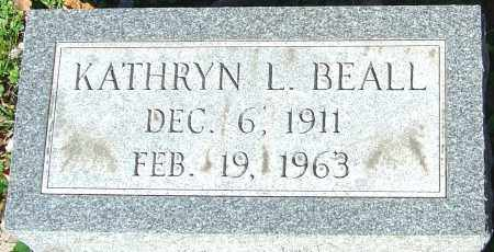 BEALL, KATHRYN L - Franklin County, Ohio | KATHRYN L BEALL - Ohio Gravestone Photos