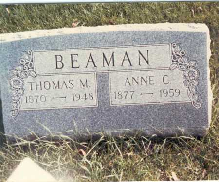 BEAMAN, ANNE C. - Franklin County, Ohio | ANNE C. BEAMAN - Ohio Gravestone Photos