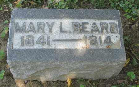 BEARD, MARY L. - Franklin County, Ohio | MARY L. BEARD - Ohio Gravestone Photos