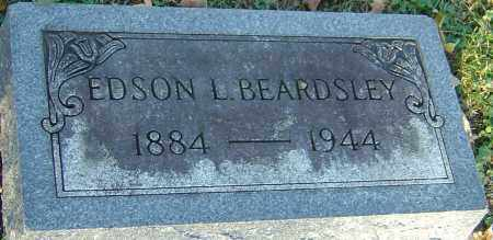 BEARDSLEY, EDSON LEWIS - Franklin County, Ohio | EDSON LEWIS BEARDSLEY - Ohio Gravestone Photos