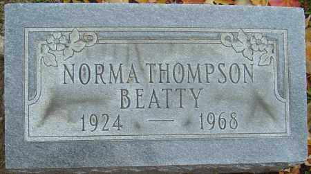 THOMPSON BEATTY, NORMA - Franklin County, Ohio | NORMA THOMPSON BEATTY - Ohio Gravestone Photos