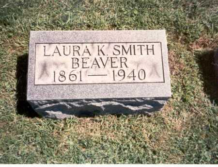 SMITH BEAVER, LAURA K. - Franklin County, Ohio | LAURA K. SMITH BEAVER - Ohio Gravestone Photos