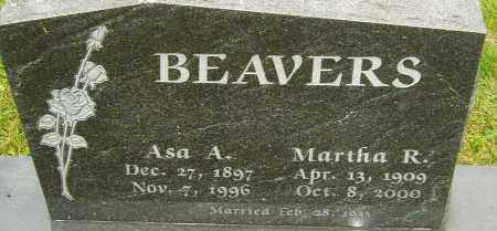 BEAVERS, ASA - Franklin County, Ohio | ASA BEAVERS - Ohio Gravestone Photos