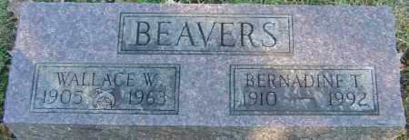 BEAVERS, WALLACE W - Franklin County, Ohio | WALLACE W BEAVERS - Ohio Gravestone Photos