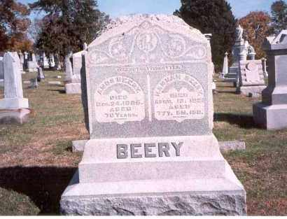 BEERY, AMOS - Franklin County, Ohio | AMOS BEERY - Ohio Gravestone Photos