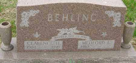 BEHLING, MEDFORD - Franklin County, Ohio | MEDFORD BEHLING - Ohio Gravestone Photos