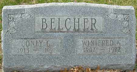 BELCHER, WINIFRED N - Franklin County, Ohio | WINIFRED N BELCHER - Ohio Gravestone Photos