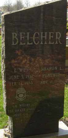 BELCHER, EARL WES - Franklin County, Ohio | EARL WES BELCHER - Ohio Gravestone Photos