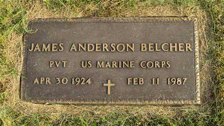 BELCHER, JAMES ANDERSON - Franklin County, Ohio | JAMES ANDERSON BELCHER - Ohio Gravestone Photos
