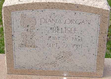 ORGAN BELISLE, DIANA - Franklin County, Ohio | DIANA ORGAN BELISLE - Ohio Gravestone Photos