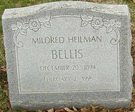 HEILMAN BELLIS, MILDRED - Franklin County, Ohio | MILDRED HEILMAN BELLIS - Ohio Gravestone Photos