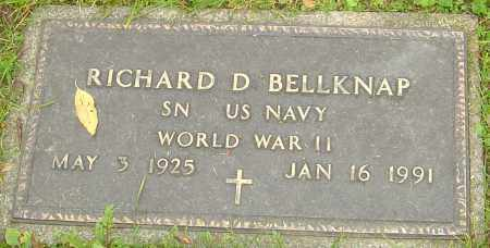 BELLKNAP, RICHARD - Franklin County, Ohio | RICHARD BELLKNAP - Ohio Gravestone Photos