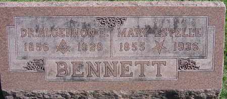 BENNETT, MARY ESTELLE - Franklin County, Ohio | MARY ESTELLE BENNETT - Ohio Gravestone Photos