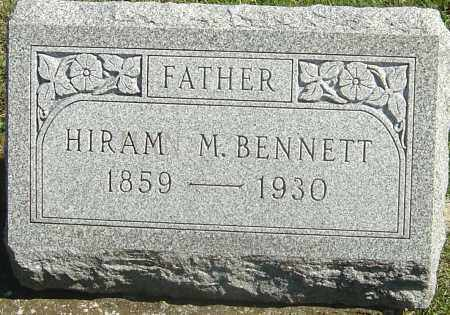 BENNETT, HIRAM MANVILLE - Franklin County, Ohio | HIRAM MANVILLE BENNETT - Ohio Gravestone Photos