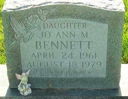 BENNETT, JO ANN M - Franklin County, Ohio | JO ANN M BENNETT - Ohio Gravestone Photos