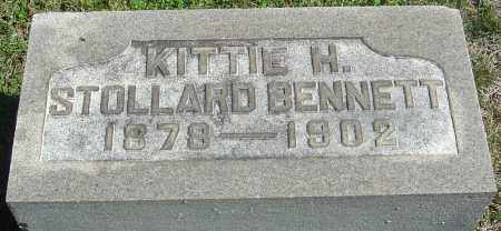 BENNETT, KITTIE H - Franklin County, Ohio | KITTIE H BENNETT - Ohio Gravestone Photos