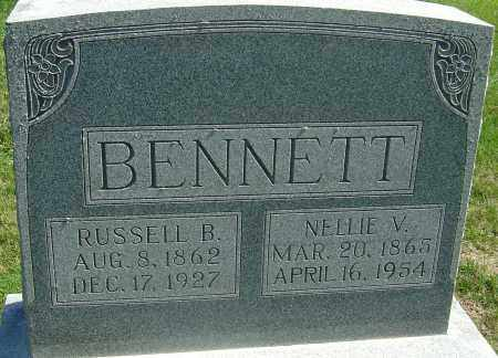 BENNETT, NELLIE V - Franklin County, Ohio | NELLIE V BENNETT - Ohio Gravestone Photos