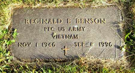 BENSON, REGINALD E. - Franklin County, Ohio | REGINALD E. BENSON - Ohio Gravestone Photos
