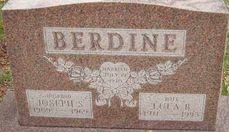 BERDINE, LULA B - Franklin County, Ohio | LULA B BERDINE - Ohio Gravestone Photos