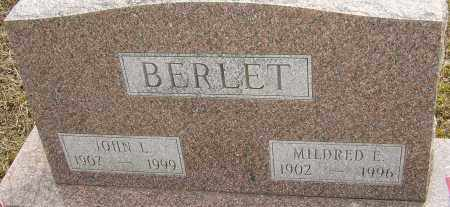 BERLET, MILDRED E - Franklin County, Ohio | MILDRED E BERLET - Ohio Gravestone Photos