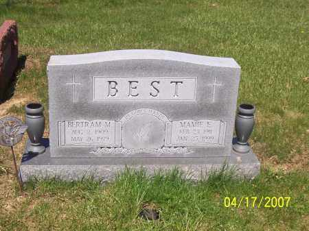VANLEAR BEST, MAMIE E - Franklin County, Ohio | MAMIE E VANLEAR BEST - Ohio Gravestone Photos