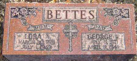 BETTES, LORA A - Franklin County, Ohio | LORA A BETTES - Ohio Gravestone Photos