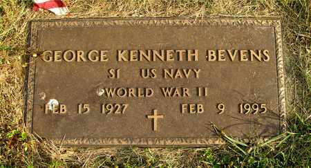 BEVENS, GEORGE KENNETH - Franklin County, Ohio | GEORGE KENNETH BEVENS - Ohio Gravestone Photos