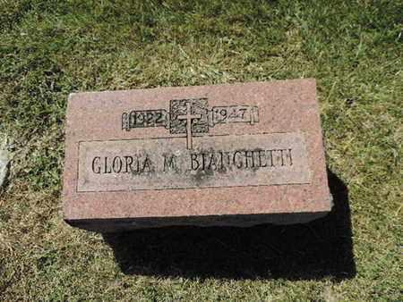 BIANCHETTI, GLORIA M. - Franklin County, Ohio   GLORIA M. BIANCHETTI - Ohio Gravestone Photos