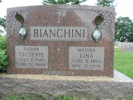 BIANCHINI, LINA - Franklin County, Ohio | LINA BIANCHINI - Ohio Gravestone Photos
