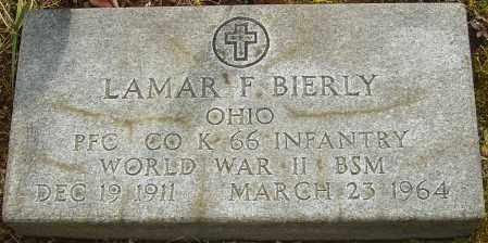 BIERLY, LAMAR F - Franklin County, Ohio | LAMAR F BIERLY - Ohio Gravestone Photos