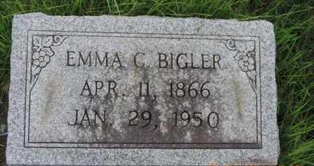 BIGLER, EMMA C - Franklin County, Ohio | EMMA C BIGLER - Ohio Gravestone Photos