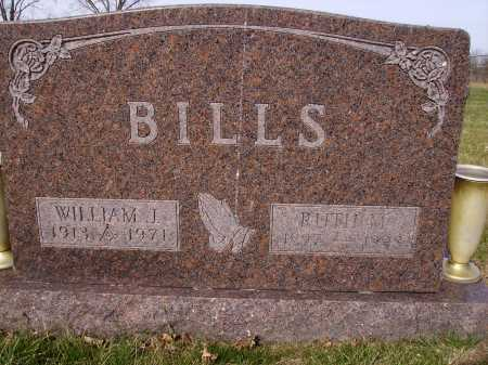 BILLS, WILLIAM J. - Franklin County, Ohio | WILLIAM J. BILLS - Ohio Gravestone Photos