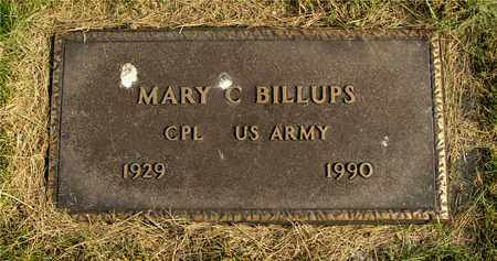 BILLUPS, MARY C. - Franklin County, Ohio | MARY C. BILLUPS - Ohio Gravestone Photos
