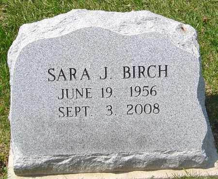 BIRCH, SARA J - Franklin County, Ohio | SARA J BIRCH - Ohio Gravestone Photos