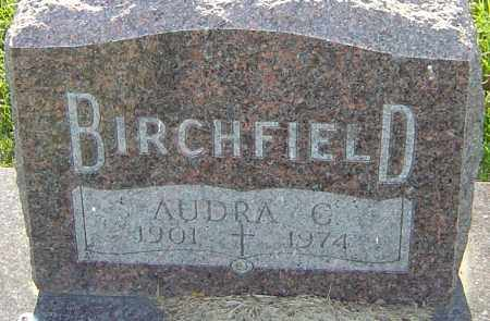 BIRCHFIELD, AUDRA C - Franklin County, Ohio | AUDRA C BIRCHFIELD - Ohio Gravestone Photos