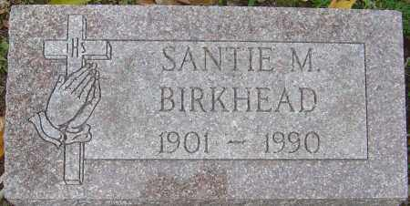BIRKHEAD, SANTIE M - Franklin County, Ohio | SANTIE M BIRKHEAD - Ohio Gravestone Photos