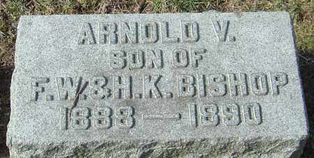 BISHOP, ARNOLD V - Franklin County, Ohio | ARNOLD V BISHOP - Ohio Gravestone Photos