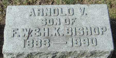 BISHOP, ARNOLD V - Franklin County, Ohio   ARNOLD V BISHOP - Ohio Gravestone Photos