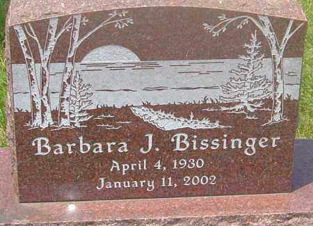 BISSINGER, BARBARA J - Franklin County, Ohio | BARBARA J BISSINGER - Ohio Gravestone Photos