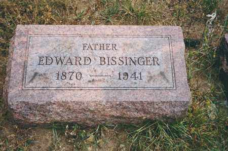 BISSINGER, EDWARD - Franklin County, Ohio | EDWARD BISSINGER - Ohio Gravestone Photos