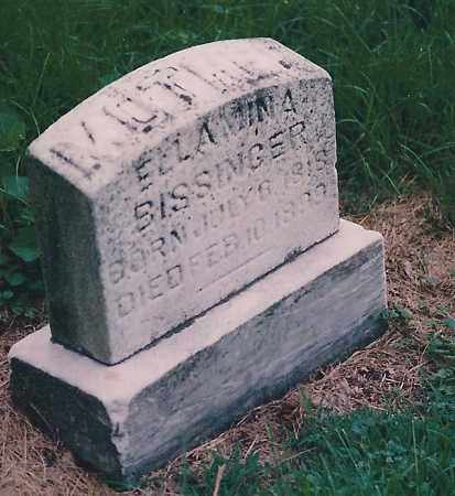 TRIVETT BISSINGER, ELLAMINA - Franklin County, Ohio | ELLAMINA TRIVETT BISSINGER - Ohio Gravestone Photos