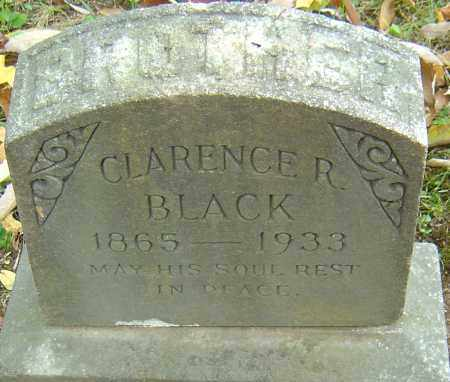 BLACK, CLARENCE R - Franklin County, Ohio | CLARENCE R BLACK - Ohio Gravestone Photos