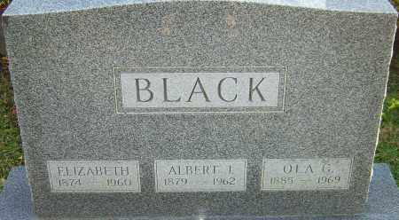 BLACK, OLA - Franklin County, Ohio | OLA BLACK - Ohio Gravestone Photos